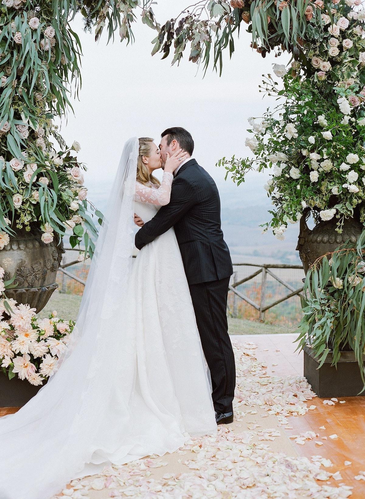 Kate Upton and Justin Verlander Wedding, Ceremony