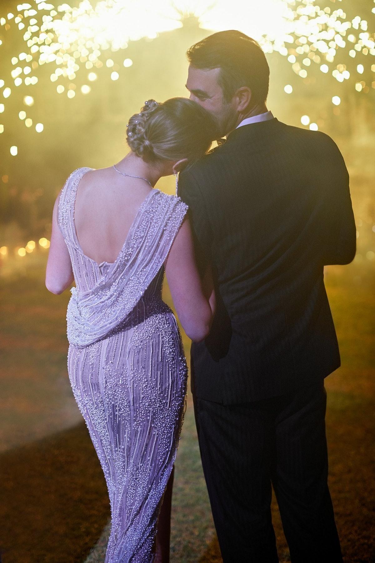 Kate Upton and Justin Verlander Wedding, Reception