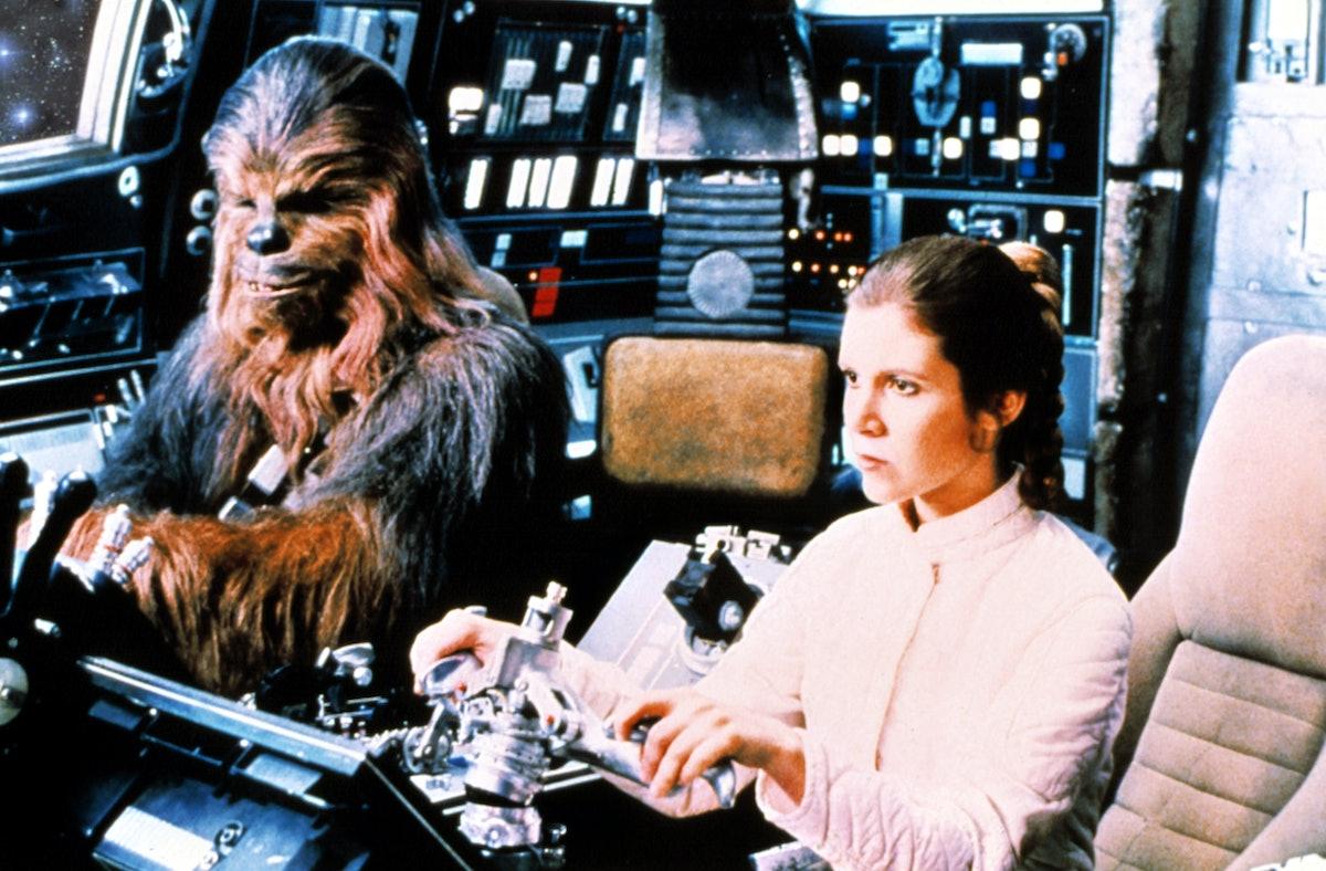 STAR WARS: EPISODE V - THE EMPIRE STRIKES BACK, Carrie Fisher, 1980, Lucasfilms / courtesy Everett C