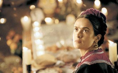 FRIDA, Salma Hayek (as Frida Kahlo), 2002, ©Miramax Films/courtesy Everett Collection