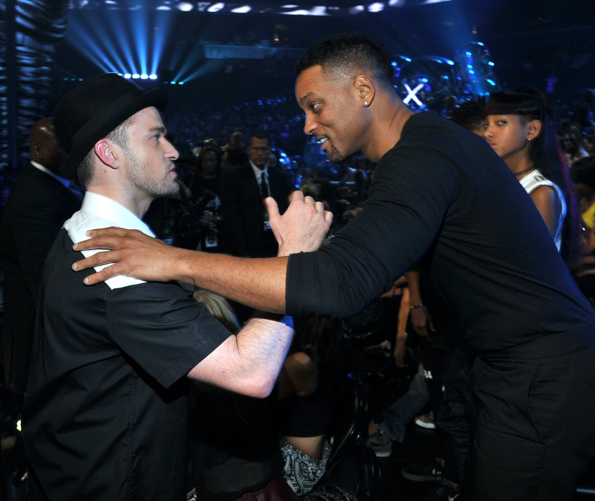 Justin Timberlake's Instagram Welcome to Will Smith