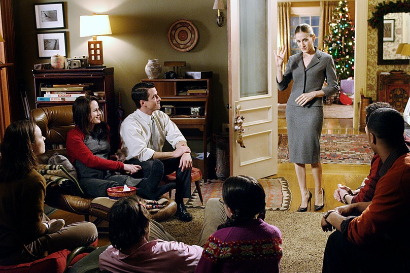 THE FAMILY STONE, Sarah Jessica Parker, (standing), 2005, TM & Copyright (c) 20th Century Fox Film C