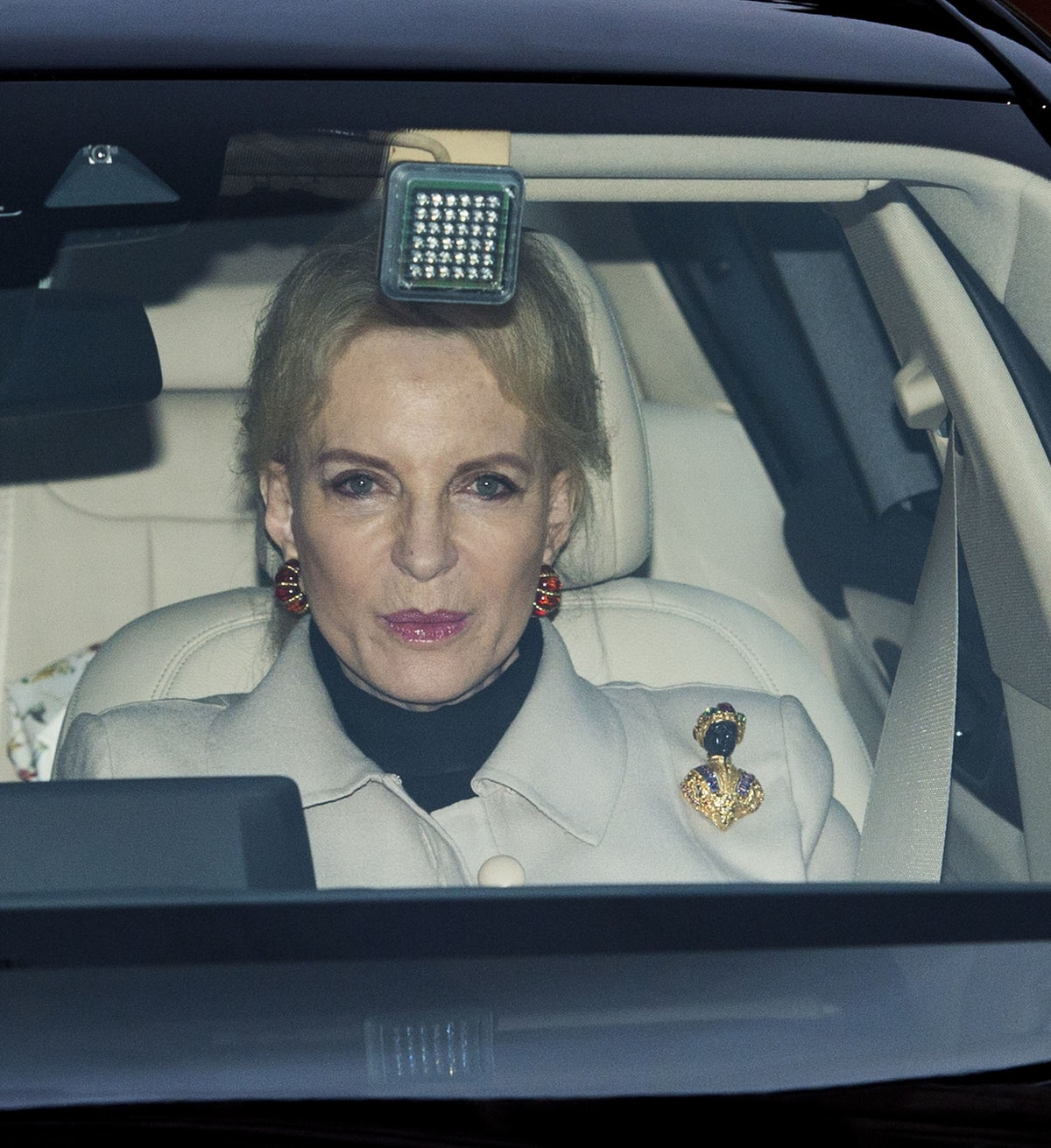 Princess Michael of Kent Wore A Racist Brooch to Lunch with Meghan Markle