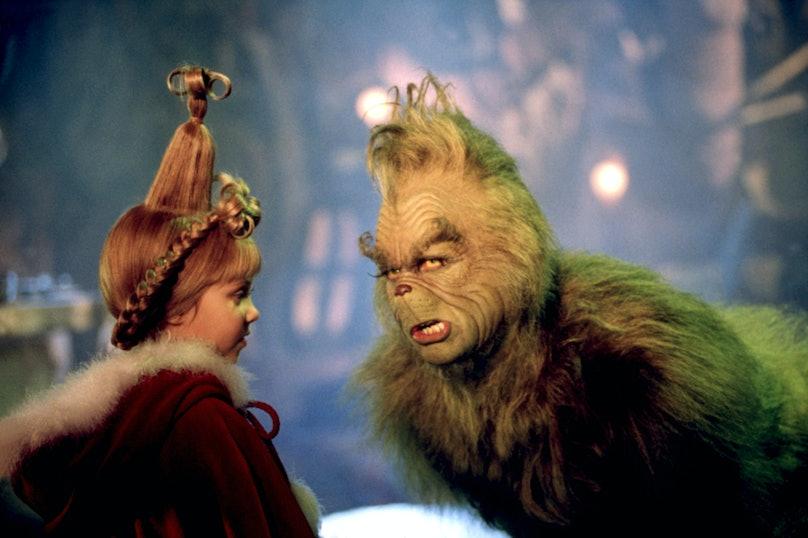 DR. SEUSS' HOW THE GRINCH STOLE CHRISTMAS, Taylor Momsen, Jim Carrey, 2000