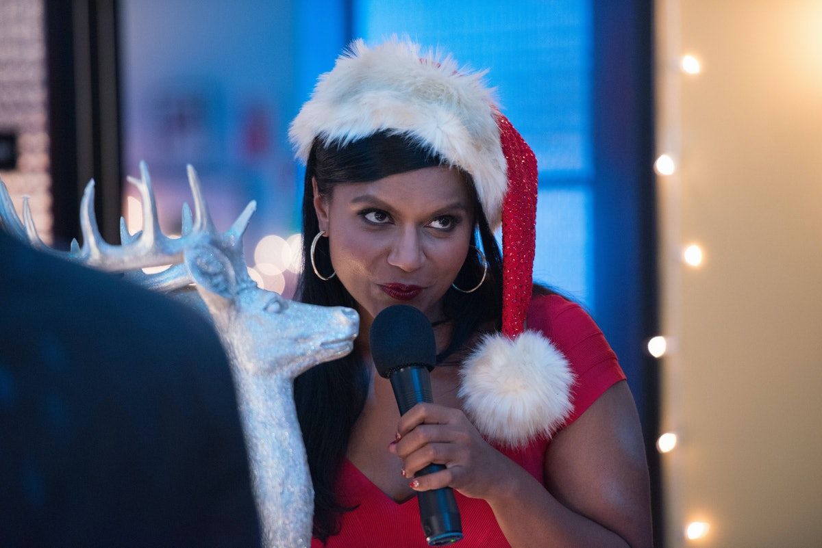 THE MINDY PROJECT, Mindy Kaling in 'Christmas Party Sex Trap' (Season 2, Episode 11, aired December