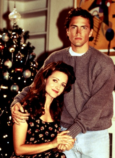 MELROSE PLACE, TV 1992-1999Kristin Davis 1995-1996 asBrook Armstrong Campbell and Andrew Shue