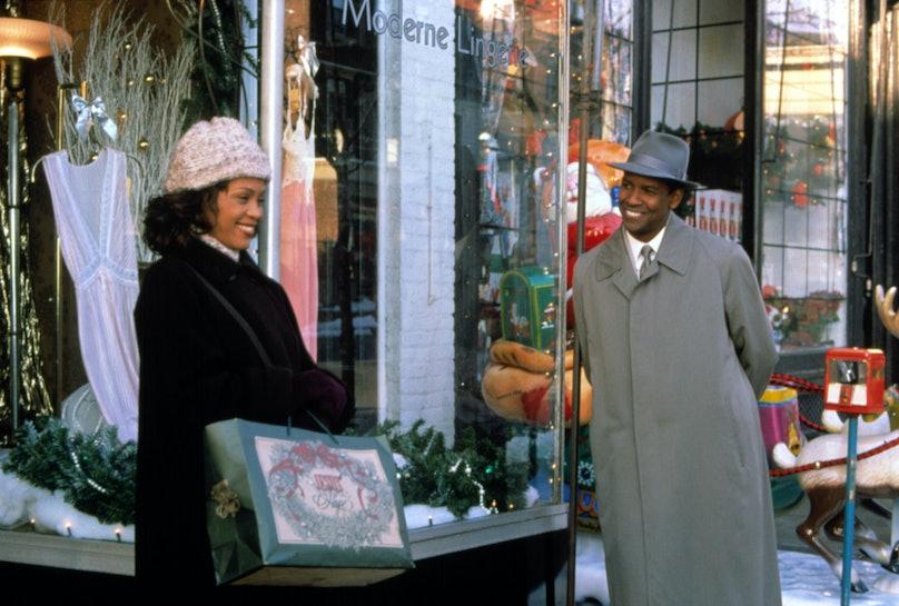 THE PREACHER'S WIFE, Whitney Houston, Denzel Washington, 1996. (c)Buena Vista Pictures/courtesy Ever