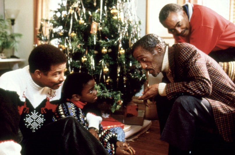 THE KID WHO LOVED CHRISTMAS, Michael Warren, Trent Cameron, Sammy Davis Jr., Gilbert Lewis, 1990, (c