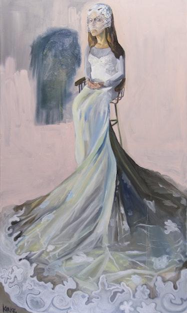 Kirke, Jemima, Domino, 2017, Oil on canvas, 54 x 32 inches.jpg