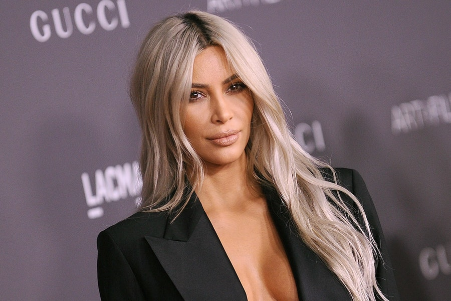 Kim Kardashian Just Teased a Major Hair Change for the New Year