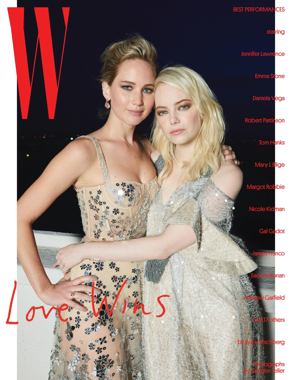 Jennifer Lawrence and Margot Robbie - Best Performances Covers