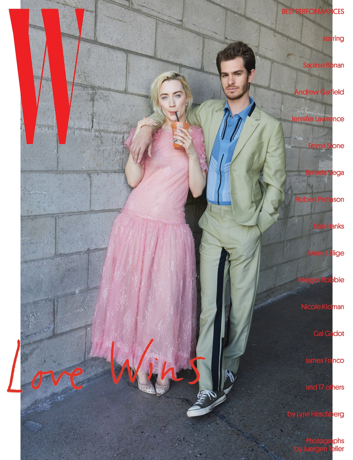 Saoirse Ronan and Andrew Garfield - Best Performances Covers