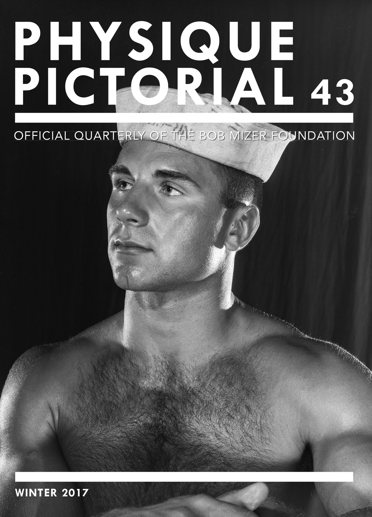 Physique Pictorial Vol 43 Cover - FrenchFlaps.indd
