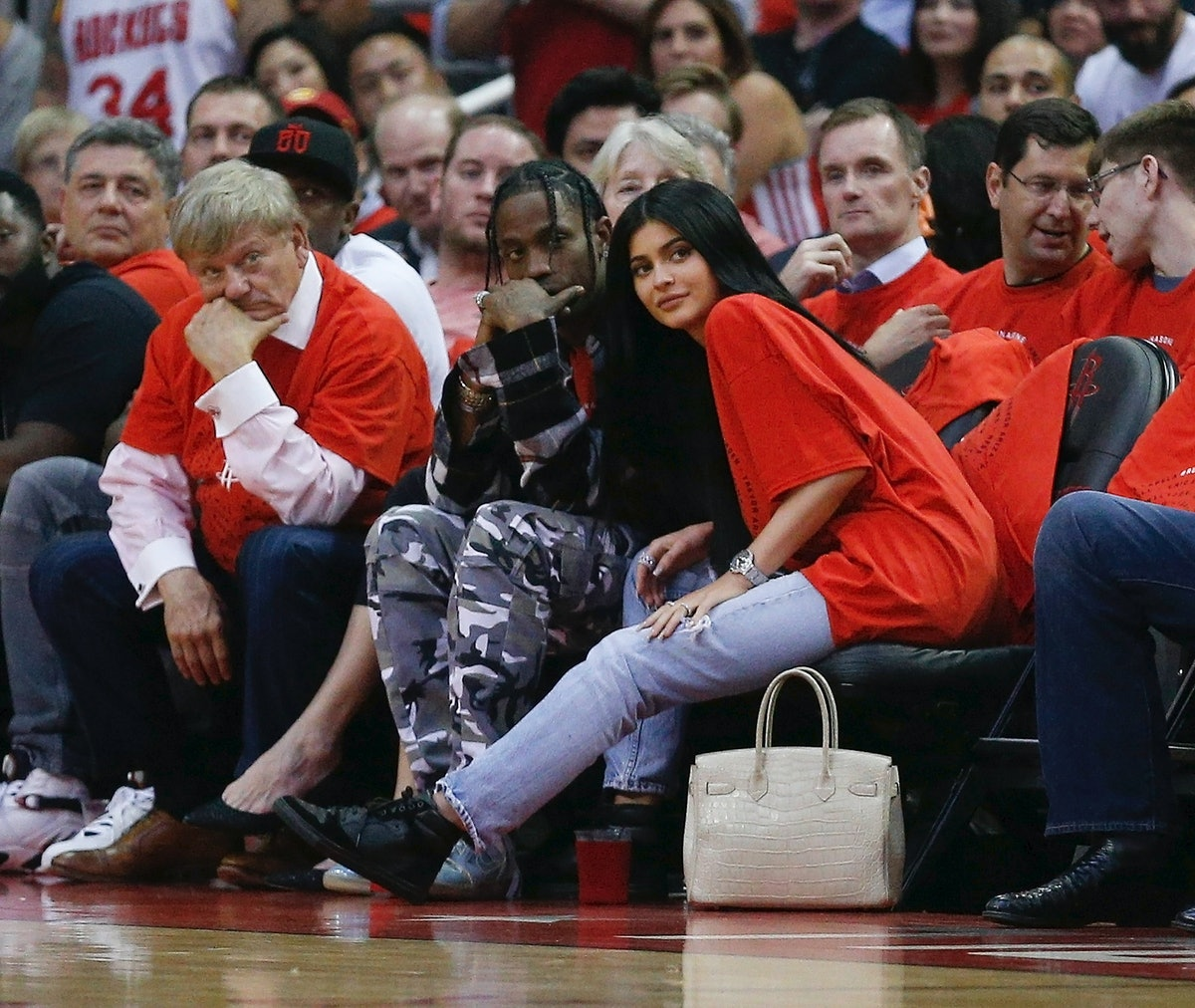 Travis Scott Won't Confirm Kylie Jenner's Pregnancy