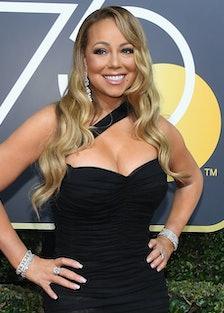 Mariah Carey Accidentally Stole Meryl Streep's Golden Globes Seat