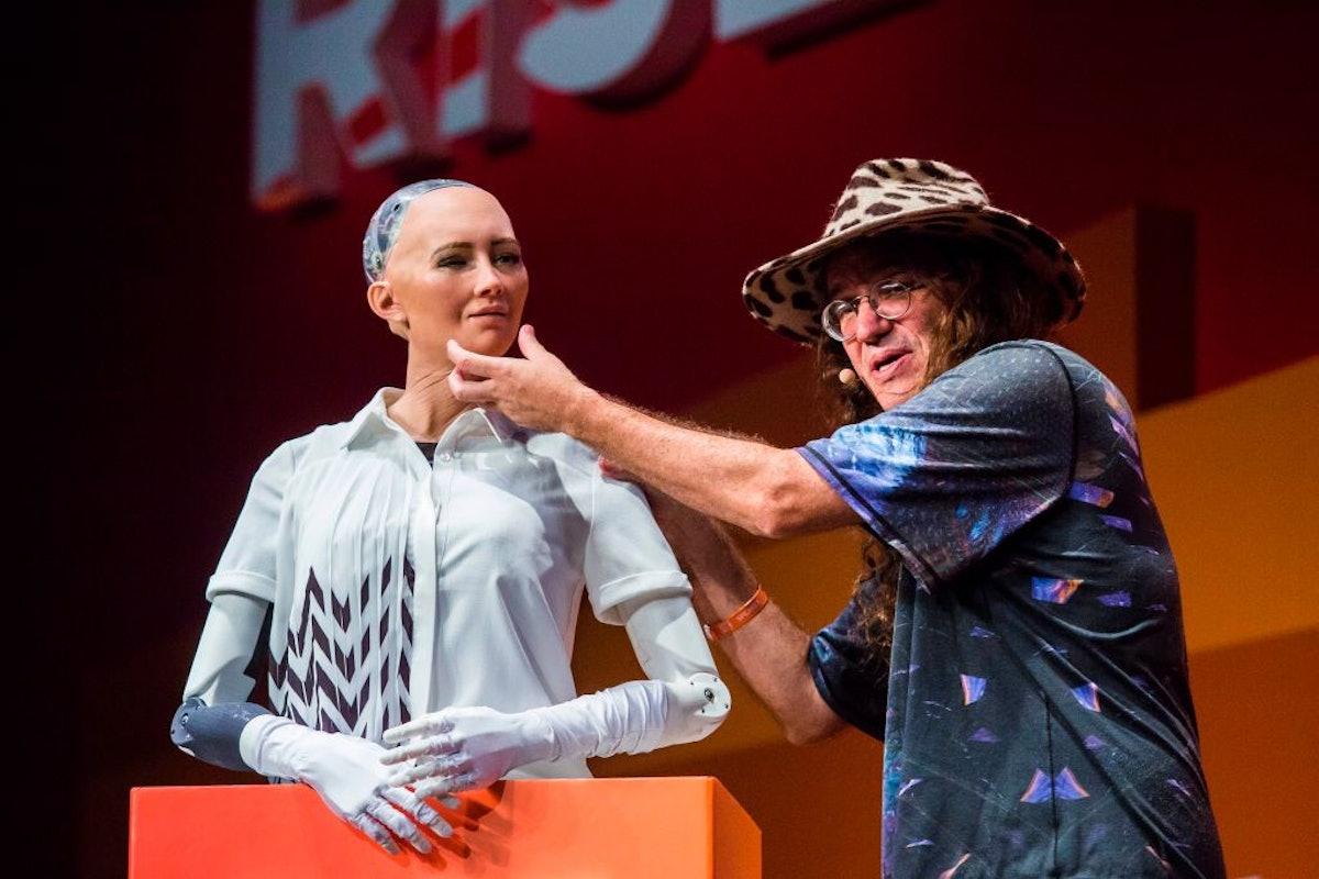 HONG KONG-ROBOTS-TECHNOLOGY-IT