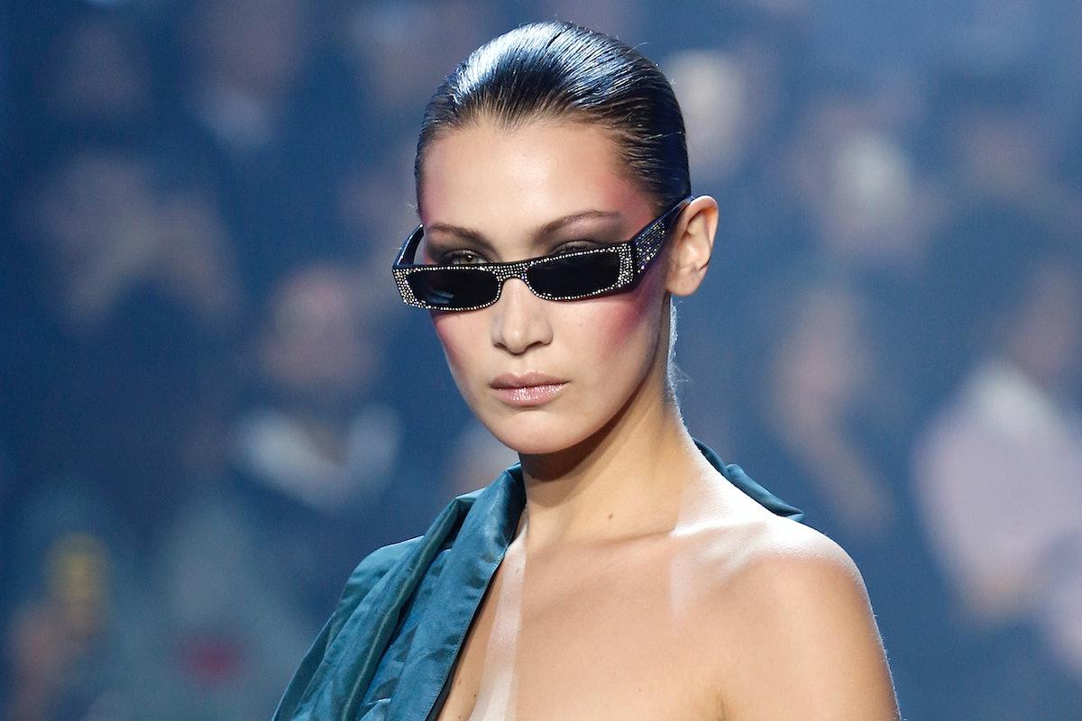 Bella Hadid Had a Wardrobe Malfunction on the Runway at Paris Fashion Week