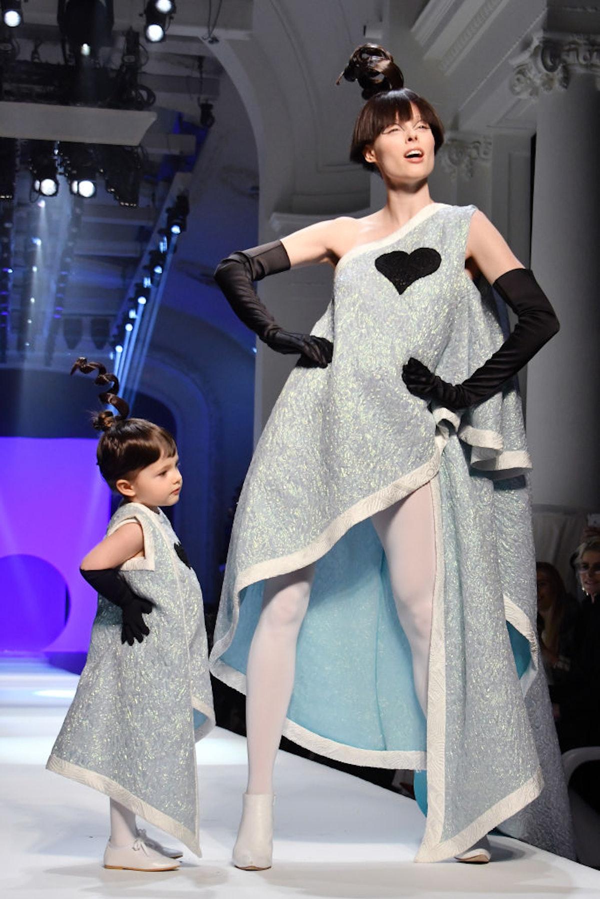 Jean-Paul Gaultier : Runway - Paris Fashion Week - Haute Couture Spring Summer 2018