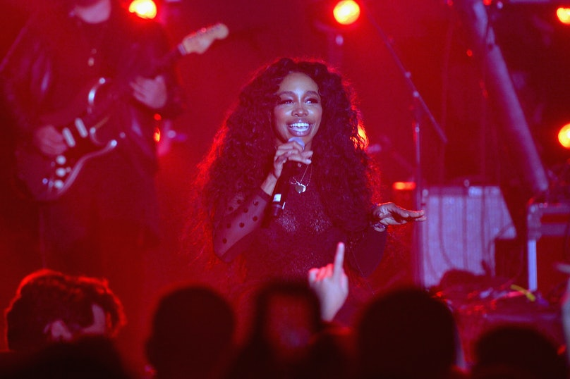 Spotify's Best New Artist Party featuring Lil Uzi Vert, SZA, Khalid, Alessia Cara and Julia Michaels held at Skylight Clarkson