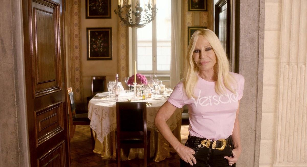 Donatella Versace 73 Questions