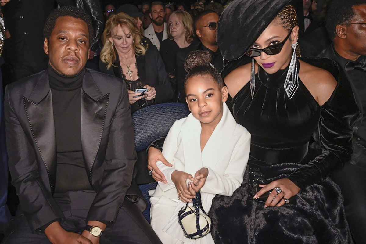 Blue Ivy Carter, 6, Carried a $2,700 Valentino Purse at the Grammys