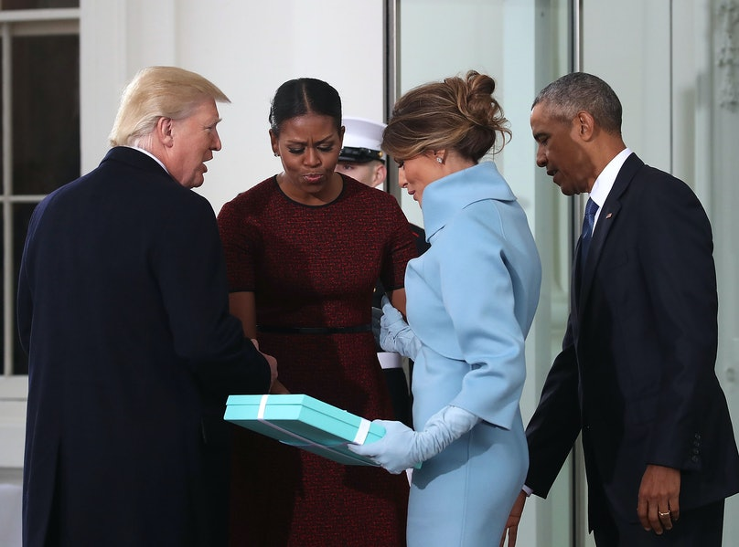 Michelle Obama Finally Opens Up About That Awkward Inauguration Gift Exchange with Melania Trump