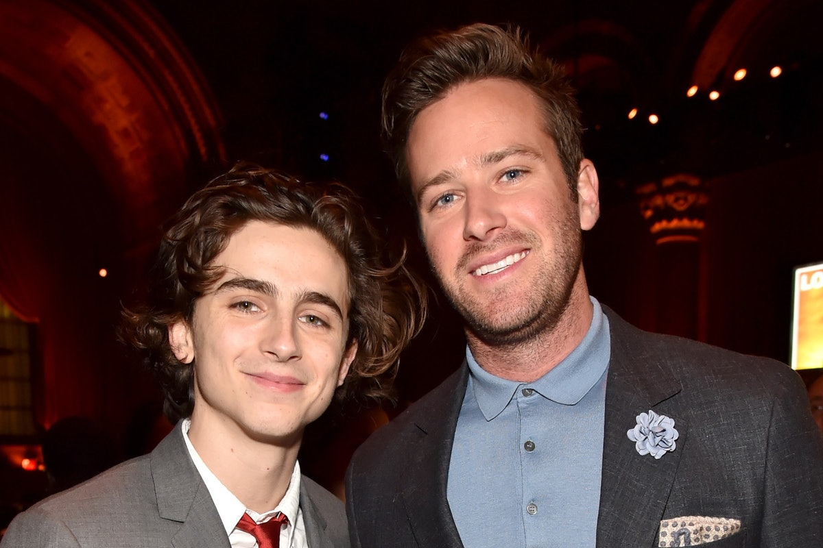 Armie Hammer and Timothée Chalamet Have Massive Call Me By Your Name Dance Party in Italy