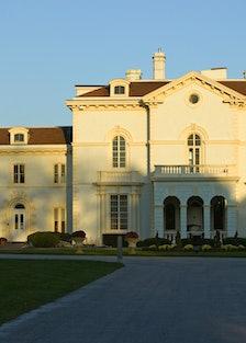 Mrs. Astor's Beechwood mansion at Bellevue Avenue in Newport, Rhode Island