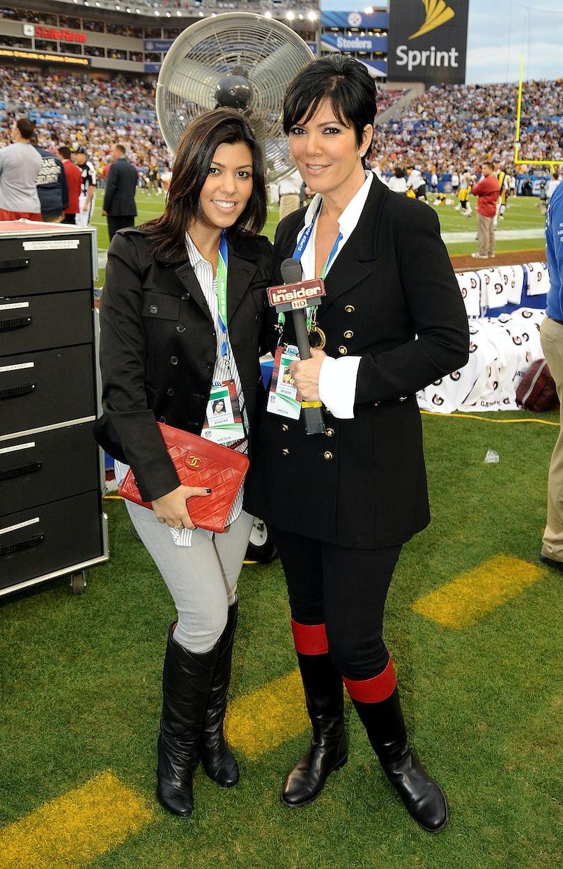 Celebrities Attend Super Bowl XLIII