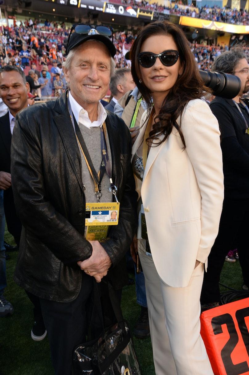 Celebrities At Super Bowl 50