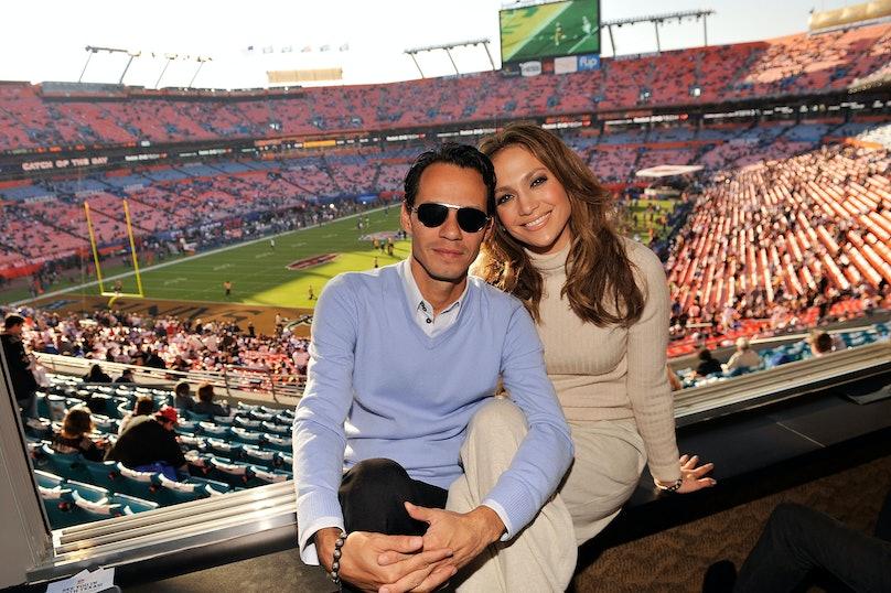 Celebrities Attend Super Bowl XLIV - February 7, 2010
