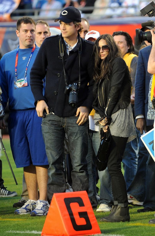 Celebrity Candids at Super Bowl XLIV - February 7, 2009