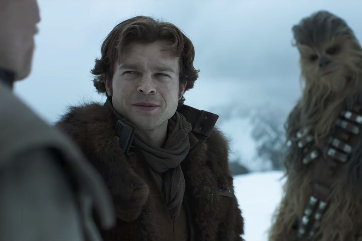 the first full trailer for Solo: A Star  Wars Story