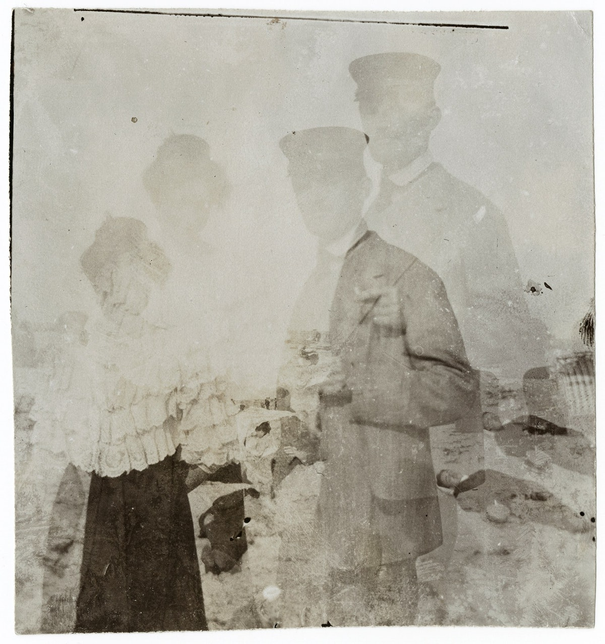 Edvard Munch og Rosa Meissner, dobbelt og speilvendt