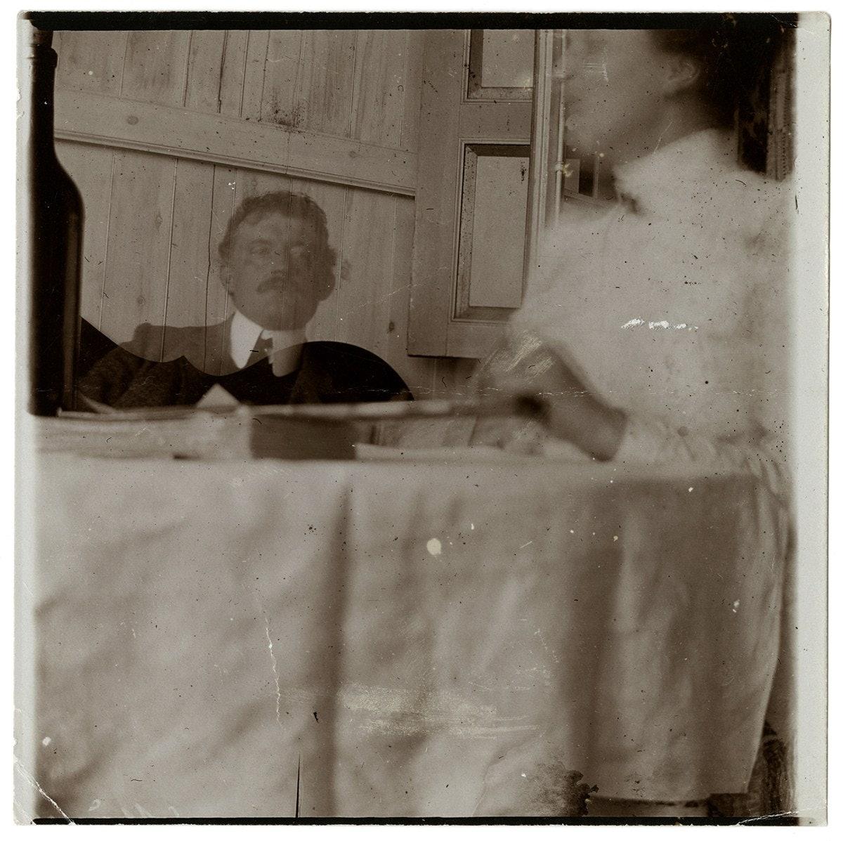 Edvard Munch og hans husholderske