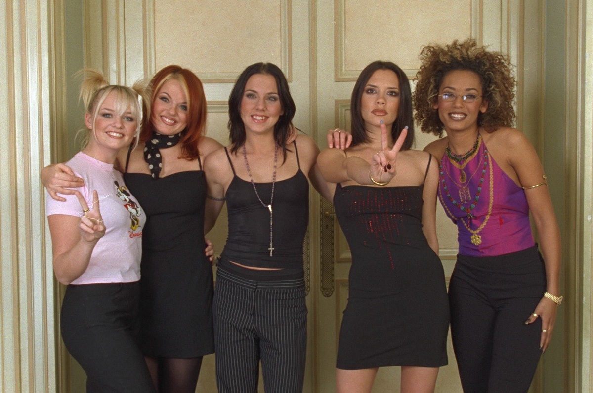 THE BAND 'THE SPICE GIRLS' IN PARIS