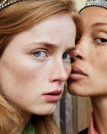 Luca Guadagnino with Rianne van Rompaey and Adwoa Aboah - Volume 2