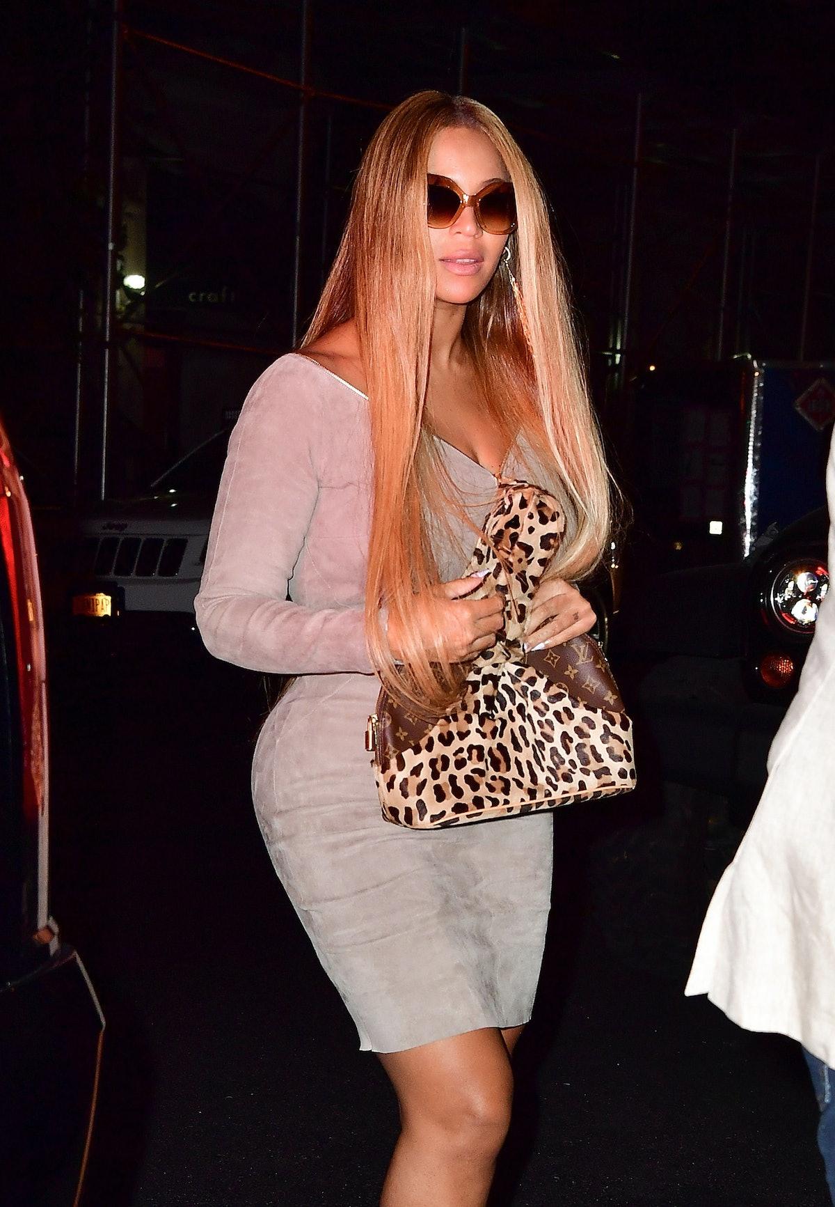 Celebrity Sightings in New York City - September 29, 2017