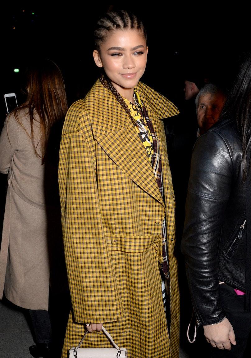 Burberry Show, Front Row, Fall Winter 2018, London Fashion Week, London, UK - 17 Feb 2018