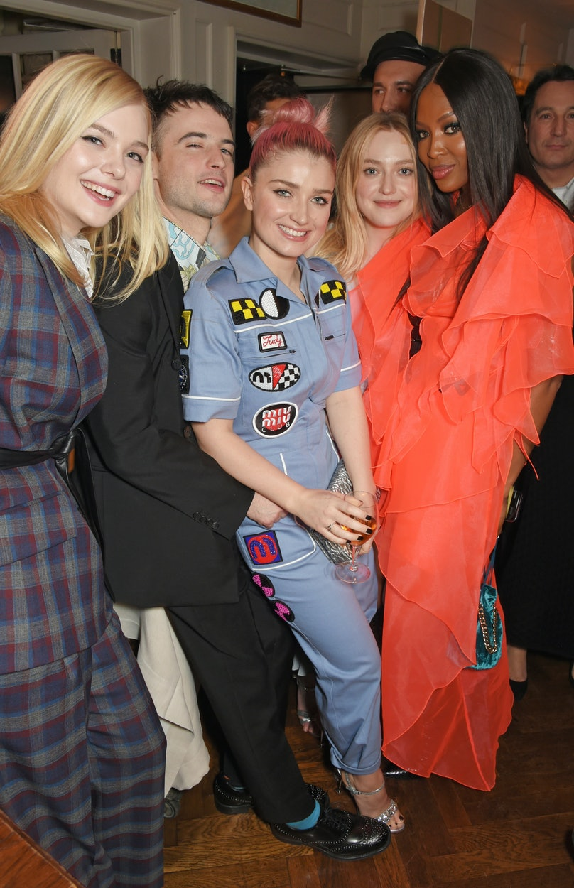 LOVE and MIU MIU Women's Tales Dinner hosted by Katie Grand and Elle Fanning