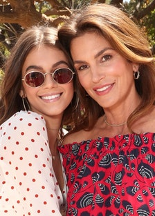 Mother's Day Weekend Brunch Hosted By Best Buddies Global Ambassador Cindy Crawford And Daughter Kai...