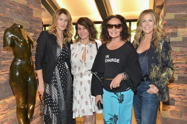 DVF Oscar Luncheon Honoring The Female Nominees Of The 90th Academy Awards
