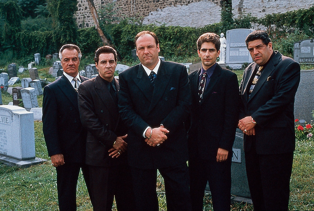 Vincent Pastore; James Gandolfini; Tony Sirico; Steven Van Zandt; Michael Imperioli