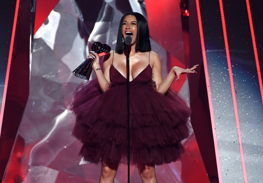 2018 iHeartRadio Music Awards Cardi