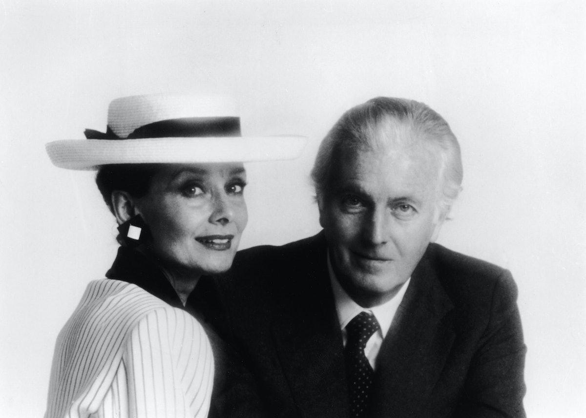 Portrait Of Audrey Hepburn & Hubert De Givenchy