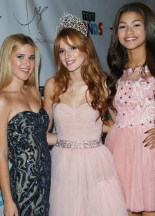 Hallmark Gold Crown And Text Bands Celebrates Bella Thorne's Quinceanera (15th Birthday Party)