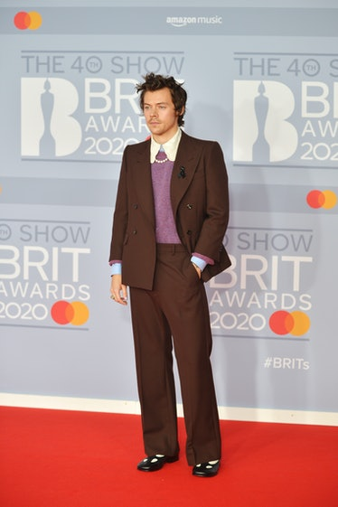 harry styles on red carpet