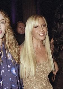 Madonna, Donatella Versace and Cher attending Metropolitan M