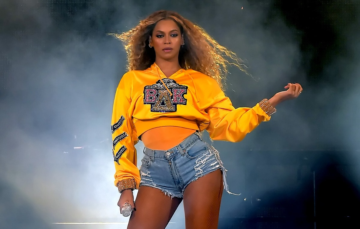 Beyoncé performing at Coachella
