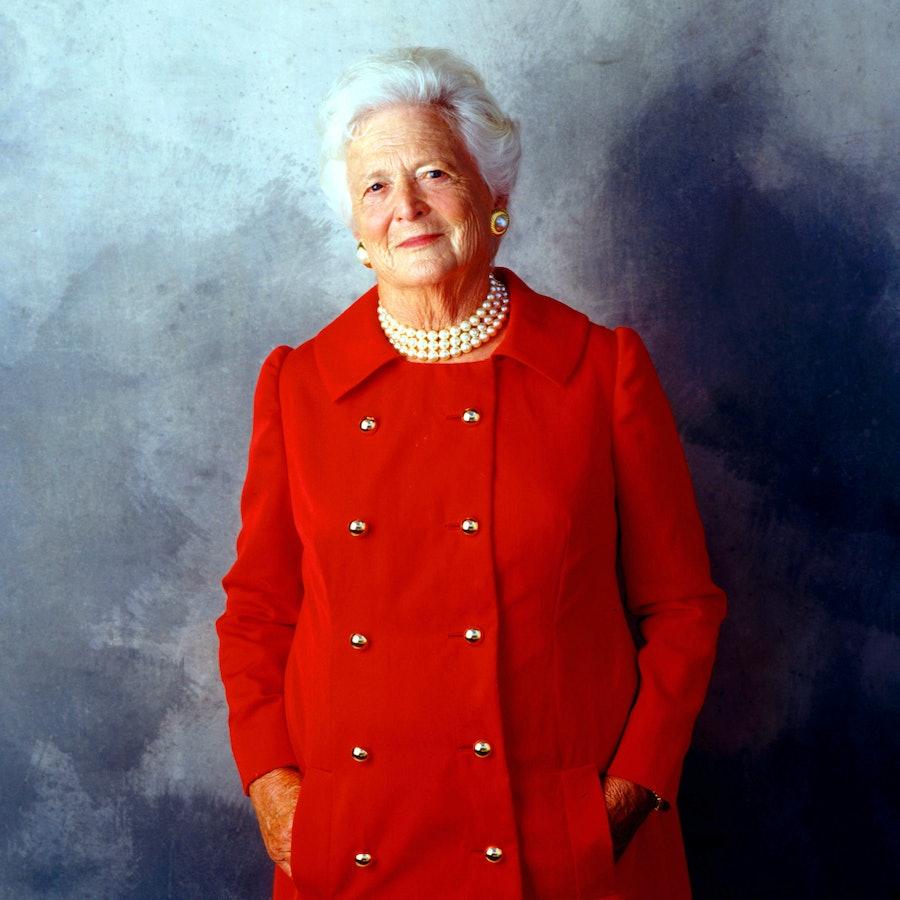 Former First Lady Barbara Bush